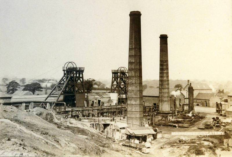 Mapperley Colliery Circa 1900